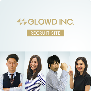 GLOWD INC. RECRUIT SITE